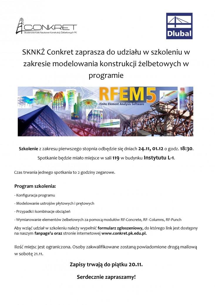 Plakat_szkolenie_RFEM